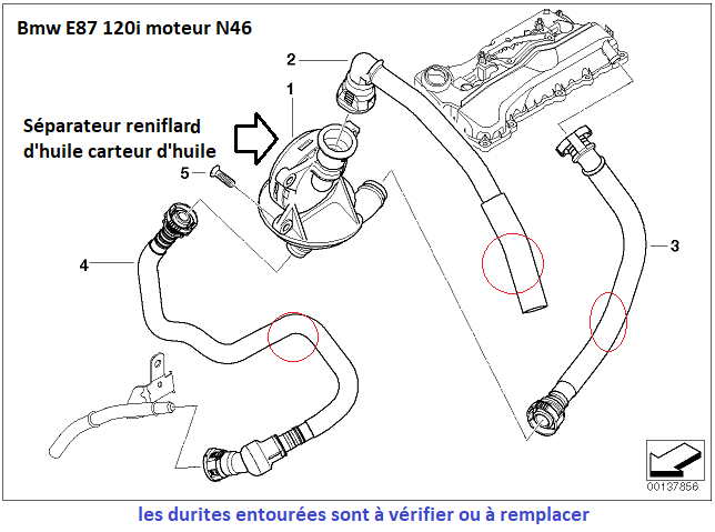 """[ BMW E87 120i an 2005 ] Jauge électronique qui bug et qui affiche """"service"""" ??? 11_37211"""