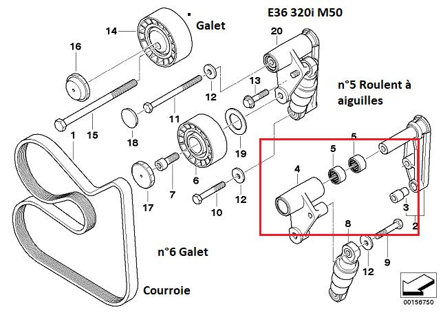 [ BMW e36 320i an 1992 ] Nom d'une pièce à changer (Résolu) 11_60410