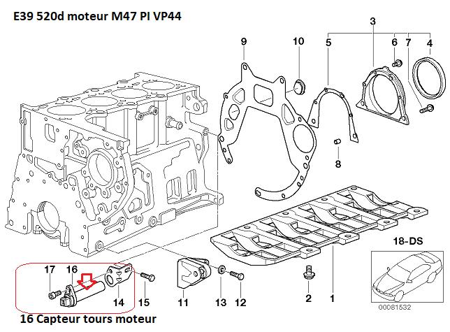 [ BMW E39 520d an 2001 ] ne démarre plus 11_74910