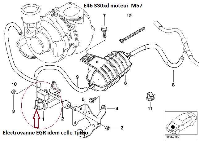 [ BMW E46 330xd M57 ] Vanne EGR qui ne s'ouvre pas. 11_e4610
