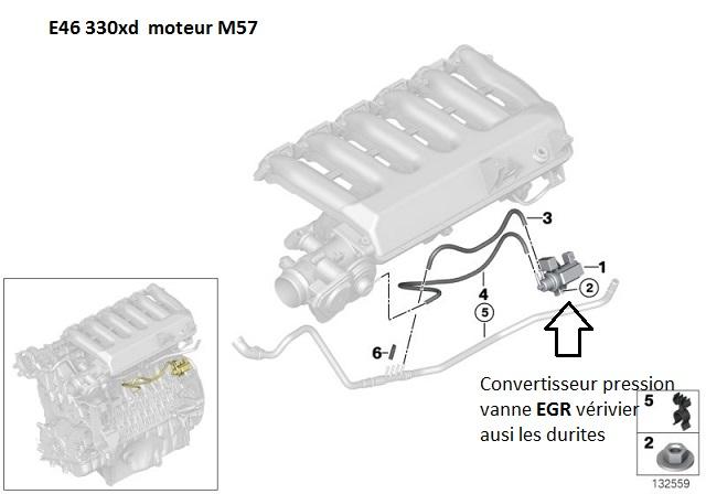 [ BMW E46 330xd M57 ] Vanne EGR qui ne s'ouvre pas. 11_e4611