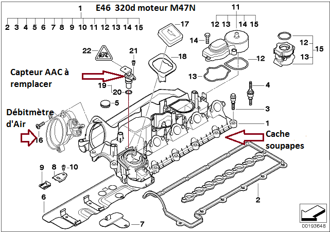 [ BMW E46 320d M47N an 2004 ] mode dégradé suite changement moteur. 11_e4613