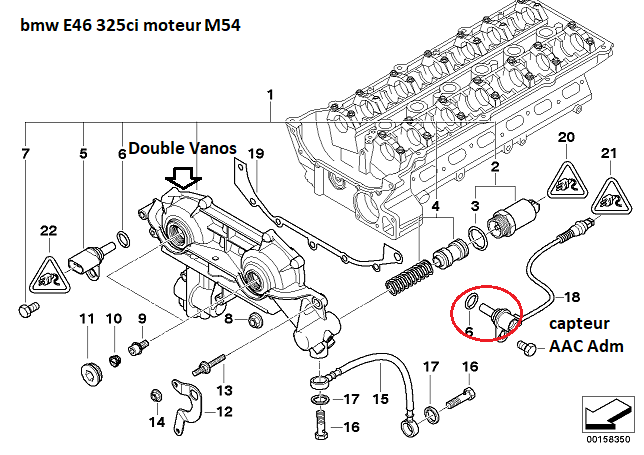 [ BMW E46 325 Ci M54 an 2002 ] Ne démarre plus (Résolu ) 11_e4621