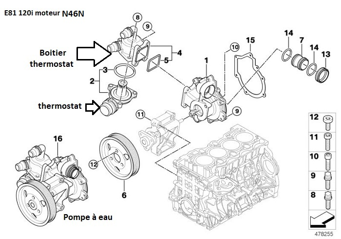 [ BMW E81 120I an 2007 ] Surchauffe moteur  11_e8111