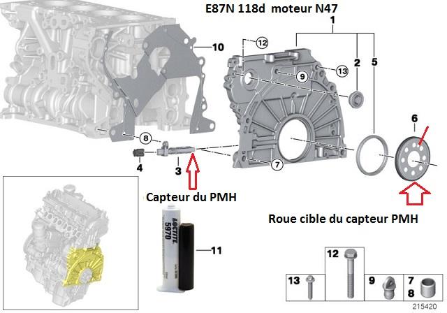 [ BMW F20 118D N47 an 2012 ] défaut 3E90 signal vilebrequin (résolu) 11_e8713