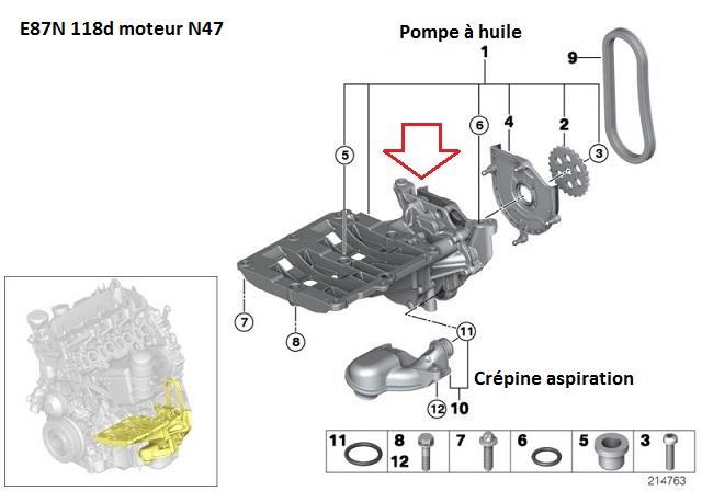 [ Bmw E87 118d N47 an 2008 ] Problème voyant huile et perte de vitesse(Résolu) - Page 2 11_e8714