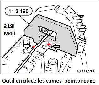 [ BMW E36 318i M40 ] Calage distribution  11_m4012
