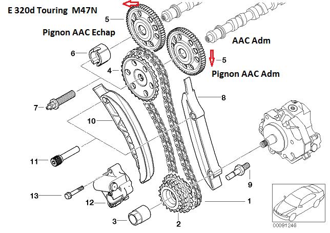 [ BMW E46 320D M47TU an 2001 ] Joint de culasse 11_m4720