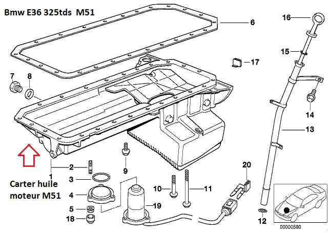 [BMW E36 325 tds M51 an 1998 ] fuite joint de carter d'huile (résolu) 11_m5111
