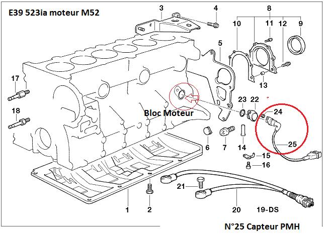 BMW E39 523ia de 1996 problème ralenti + puissance 11_m5212