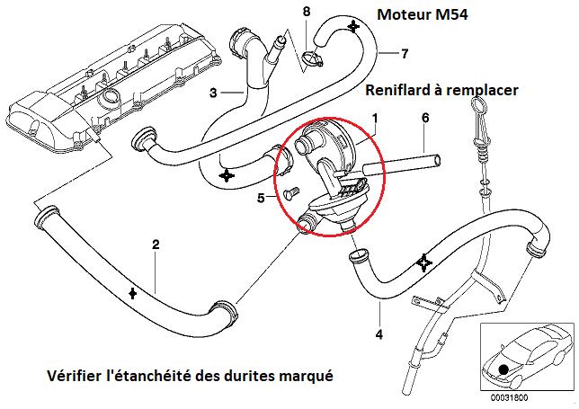 [ BMW Z4 E85 3.0i ess 2003 M54 ] P0301 - Ratés d'allumage cyl1  11_m5413