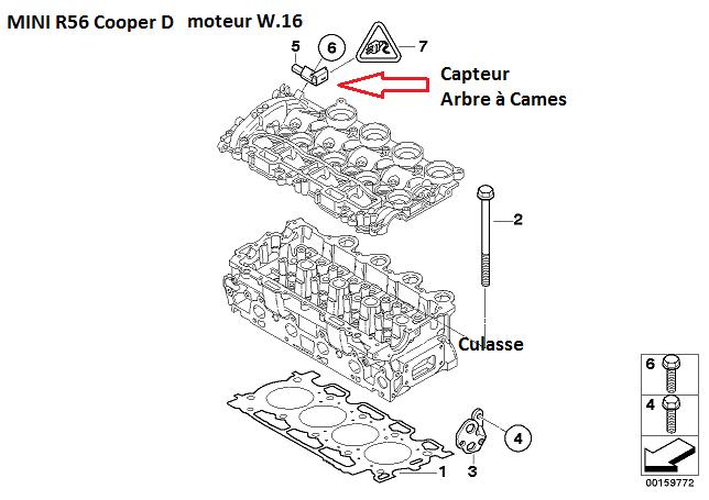 [ MINI Cooper 1.6 D Automatique an 2007 ] Arrêts moteurs aléatoires & Moteurs qui broute 11_min10