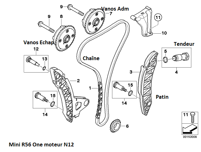 [ Mini R56 N12 an 2008 ] Schéma calage chaîne de distribution (résolu) 11_min15