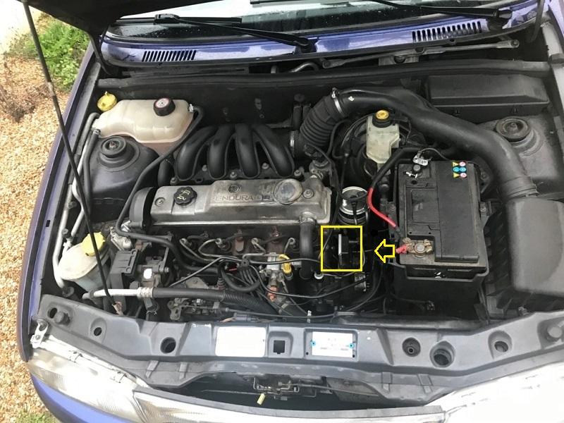 [ Ford Fiesta 1.8D an 1999 ] Démarrage difficile 11_mot15