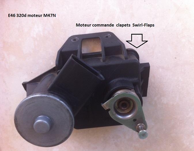 [ BMW E46 320TD M47TU compact an 2004 ] Fuite clapets admission 11_mot17