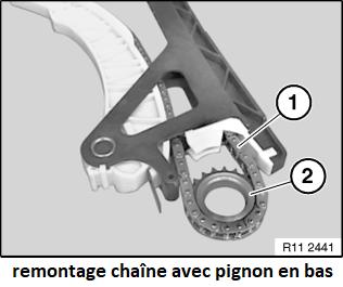 [ BMW 316I N42 1.8 85KW an 2002 ] Casse rail de guidage chaîne distribution (Résolu) 11_n4211