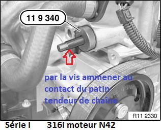 [ BMW 316I N42 1.8 85KW an 2002 ] Casse rail de guidage chaîne distribution (Résolu) - Page 2 11_n4214