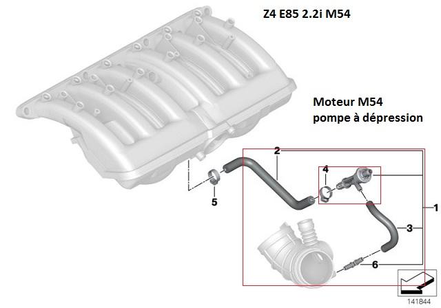[ bmw E85 Z4 2.2i an 2005 ] sifflement aigu 11_pom11