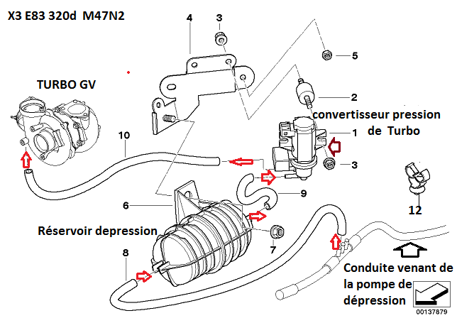 [ bmw E83 X3 2.0d M47N2 an 2006 ] questions turbo / durites 11_x3_10