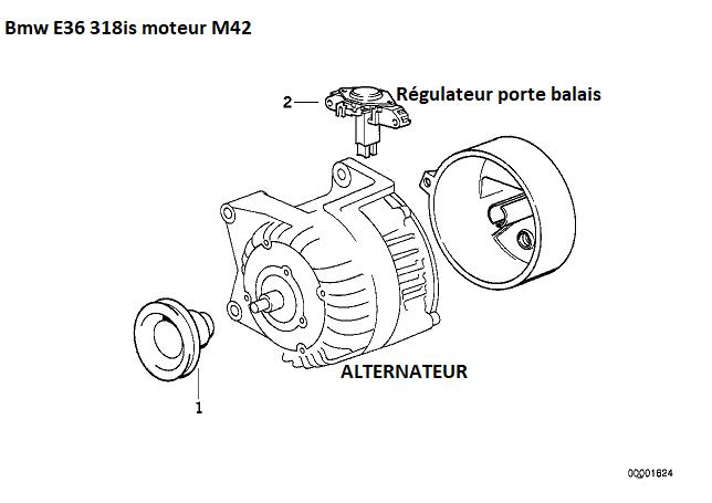 [ Bmw e36 318is m42b18 an 1993 ] coupure moteur en roulant  12_06010