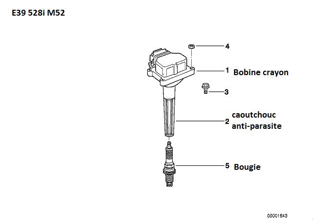 [ BMW 528 i E39 année 1999 ] Tourne sur 3_4 Cylindres  12_5_e10