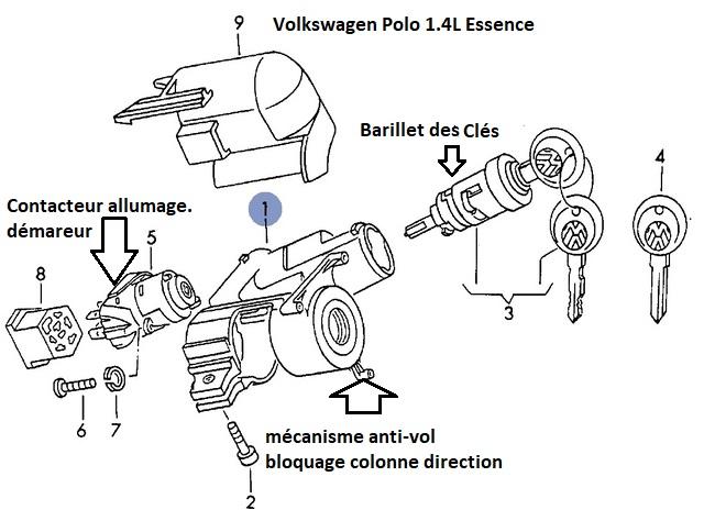 [ VW polo 1.4 ess an 1997 ] Problème démarrage. 12_con10
