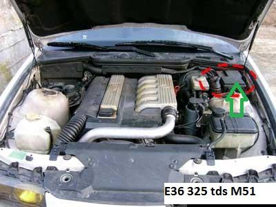 [ BMW E36 325tds an 1995 ] batterie qui se décharge  12_e3610