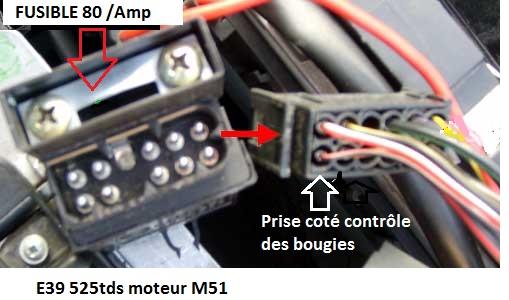 [ Bmw E39 525 tds M51 an 1997 ] Problème Intensité bougies de préchauffage  12_m5111