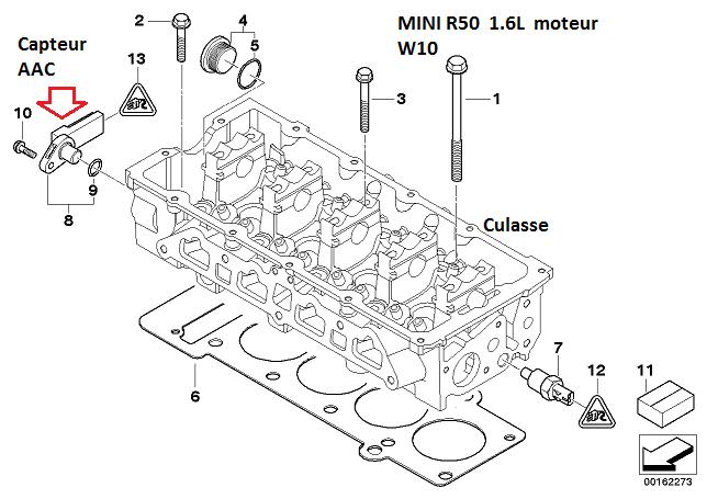 [ mini cooper r50 1.6 115 an 2004 ] ne démarre plus suite changement embrayage (Résolu) 12_min10