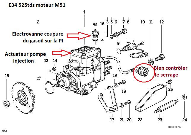 [ Bmw E34 525 tds M51 an 1995 ] Problème démarrage 13_03910