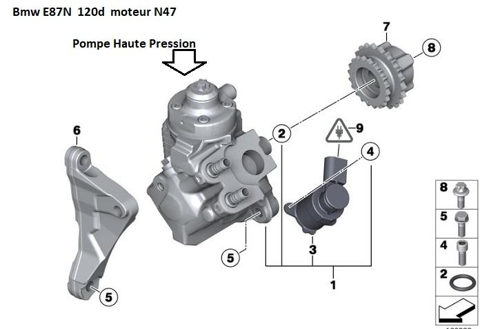 [ BMW E87 120d N47 an 2009 ] Ne démarre plus 13_12210