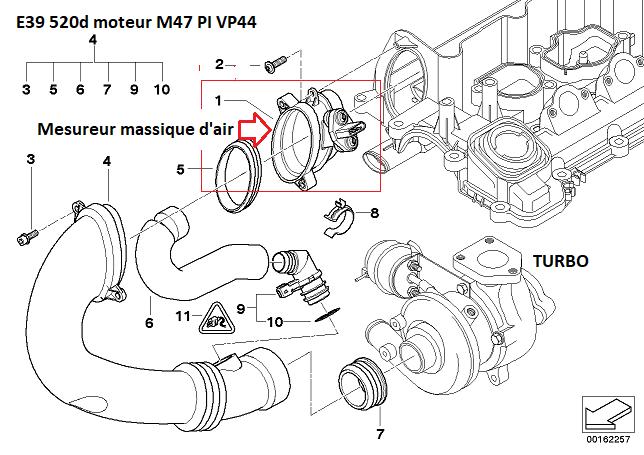 [ BMW E39 520d an 2001 ] ne démarre plus 13_20310