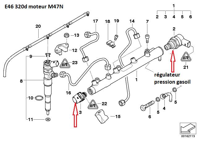 [ BMW e46 320d M47 an 2003 ] problème non résolu après remplacement injecteur 13_32010