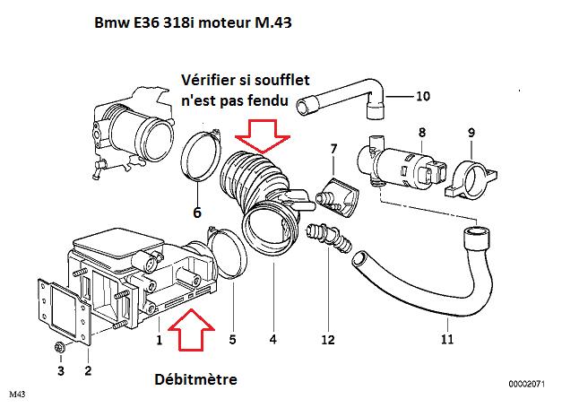 [ Bmw e36 318i Cabriolet. an 1997 ] problème démarrage 13_e3610