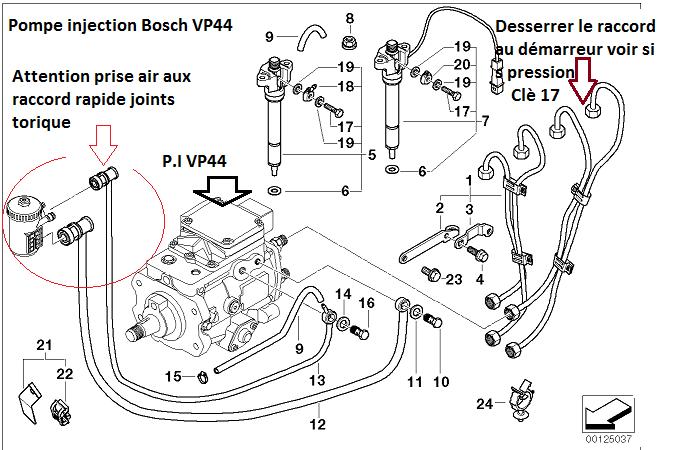 [ BMW E39 520D an 2000 ] ne démarre plus après vidange 13_e3914