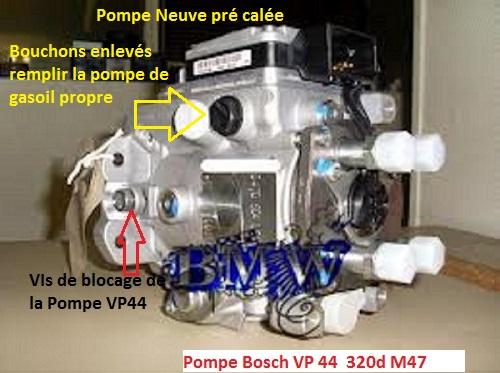 [ bmw E46 320d M47 an 1999 ] Calage de la pompe à injection  13_ima12