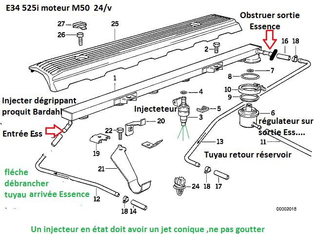[ Bmw e34 525i m50 b25 an 1990 ] huile dans le puit de bougie (Résolu) - Page 2 13_m5010