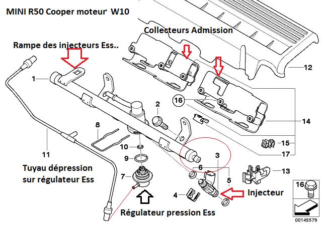 problème de carburant sur MINI R 50 115 CH 2004  13_min11