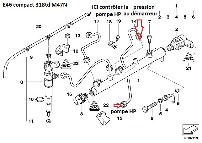 [ Bmw E46 318d compact an 2004 ] Plus de démarrage bmw  13_pom10