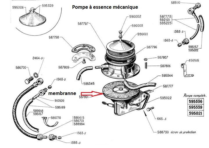 [ CITROEN Traction 11BL an 1952 ] Pompe à essence à refaire 13_pom16