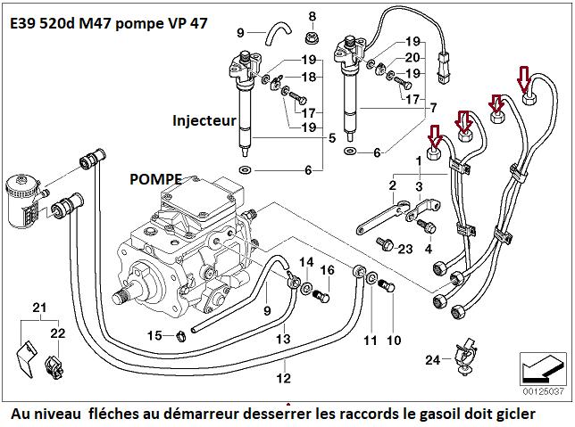 (Abandonné )[ BMW E39 520D M47 an 2002 ] Panne démarrage 13_vp416