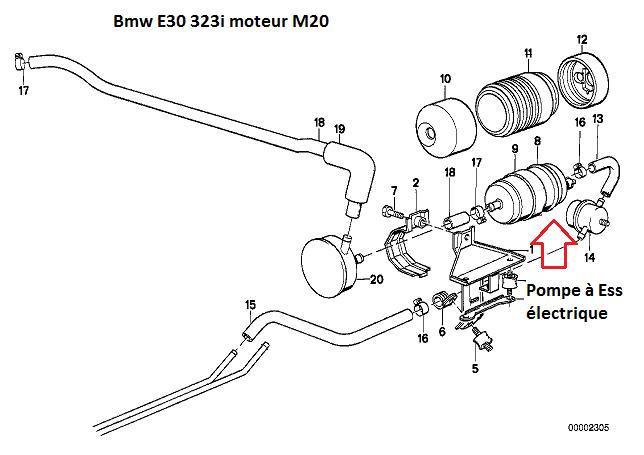 [ BMW E30 323i an 1983 ] Cale à chaud 16_e3010