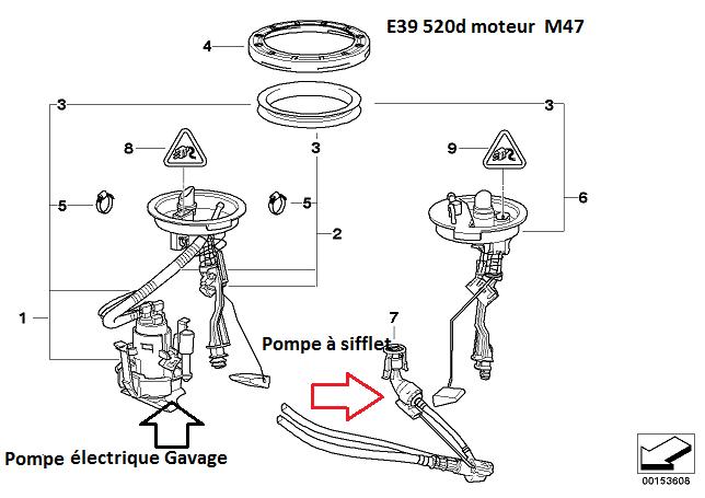 [ BMW E39 520d M47 an 2002 ] Panne sèche alors qu'il reste +/- 25l de GO 16_e3910