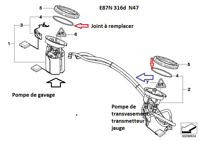 [ Bmw E87 116D an 2009 ] Fuite et odeur de gasoil sur la banquette arriere E87 16_e8712