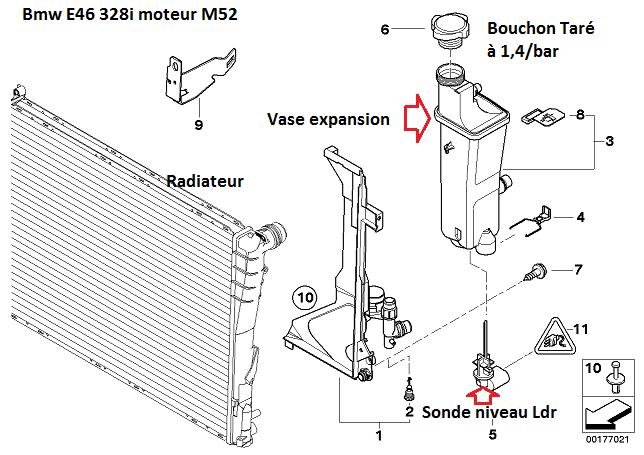[ BMW e46 328i M52 an 2000 ] Surchauffe moteur  17_rad10