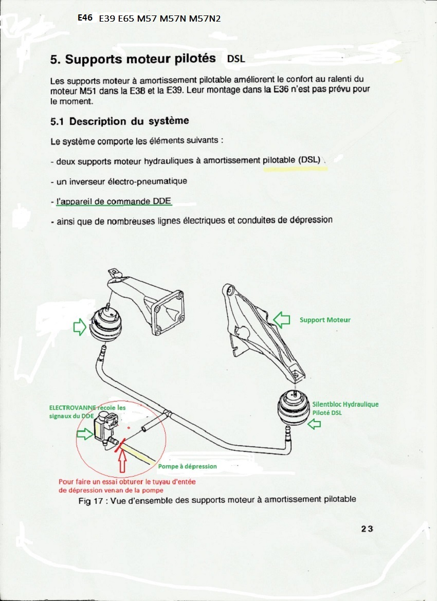 [ BMW e60 530d M57N an 2004 ] bruit échappement odeur d'huile brûlée et perte de puissance 22_dsl12