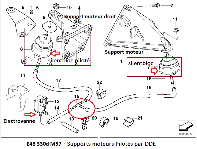 [ bmw E83 X3 2.0d M47N2 an 2006 ] questions turbo / durites 22_e4613
