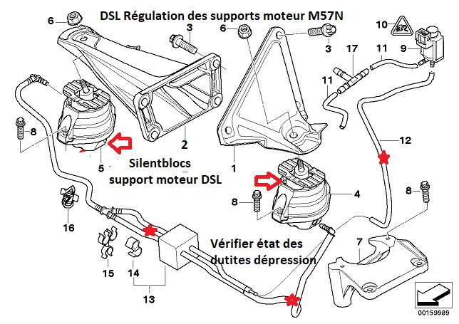 [ BMW e60 530d M57N an 2004 ] bruit échappement odeur d'huile brûlée et perte de puissance 22_sus10