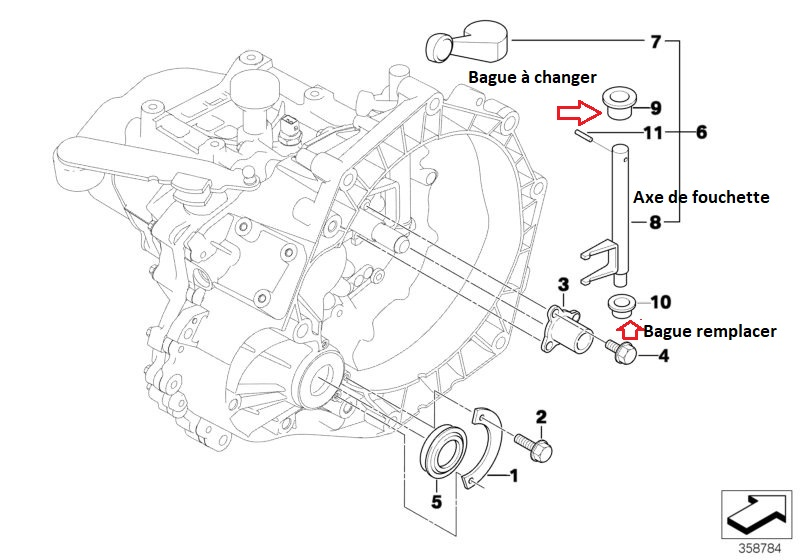 [ Mini R50 Cooper 1.6i 115 an 2003 ] Bruit intermittent embrayé, Embrayage ou boite ? 23_09010