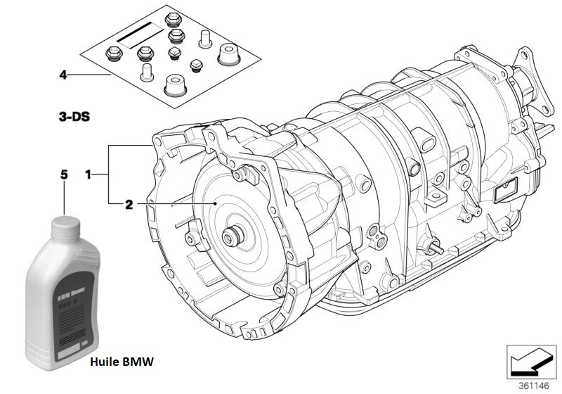 [ BMW E46 330da an 2003 ] Montage boite de 320da 24_08310
